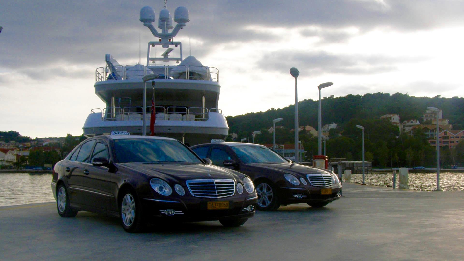 V.I.P. Transfers – Yacht Services